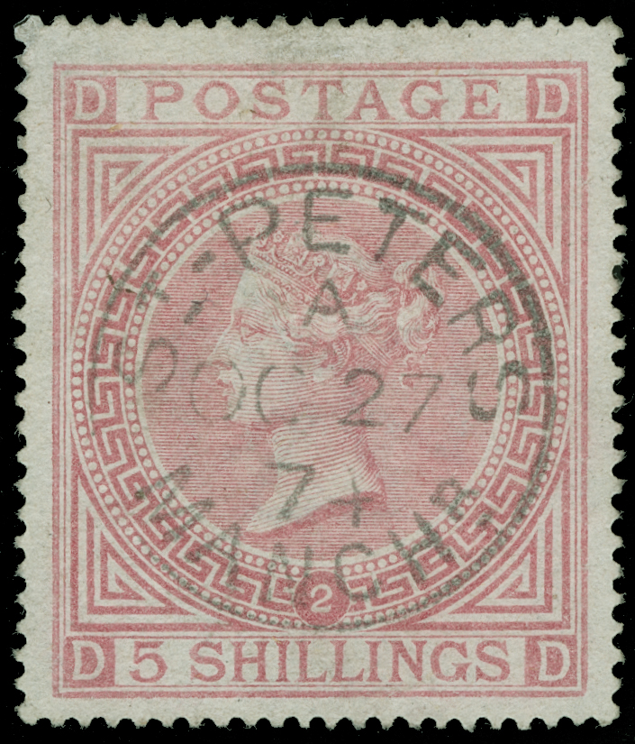 Lot 19 - Great Britain  -  COLONIAL STAMP CO. Auction #130 - Public Auction