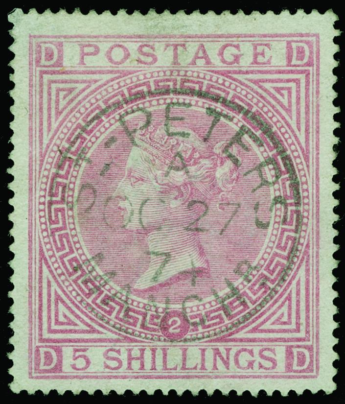 Lot 28 - Great Britain  -  COLONIAL STAMP CO. Auction #130 - Public Auction